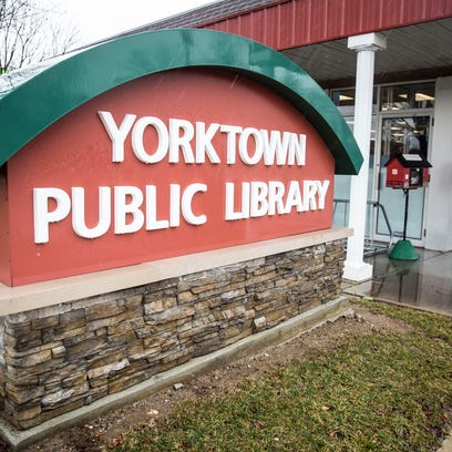 The Yorktown Public Library, which has been in its