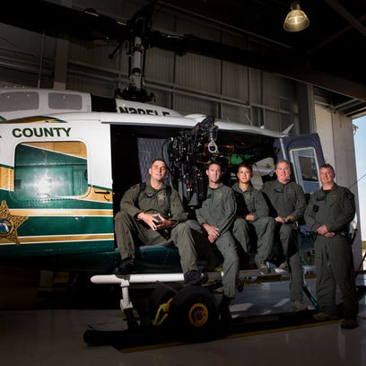 The five officers with the Collier County Sheriff's