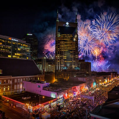 4th of July in Nashville