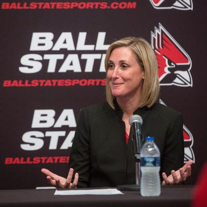Beth Goetz, Ball State University's new athletic director,