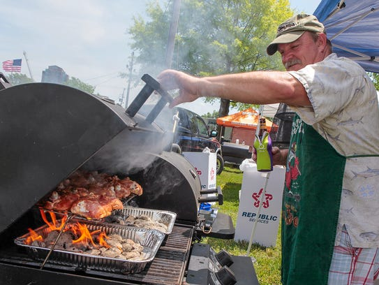 The fifth annualBackyard BBQ Festival is set for 10 a.m. to 4 p.m. May 12 at Cannonsburgh Village, 312 S. Front St. in Murfreesboro.