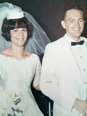 Tawna and Tom Dailey were married Aug. 20, 1966, in Albuquerque.