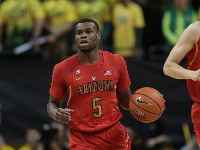 Arizona guard Kadeem Allen (5) in the Wildcats' 'State