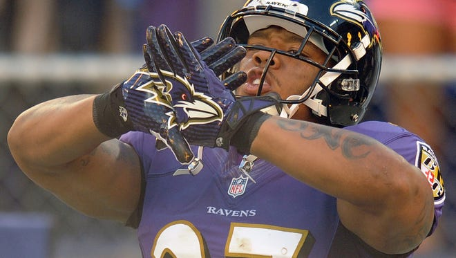 Ray Rice in 2012.