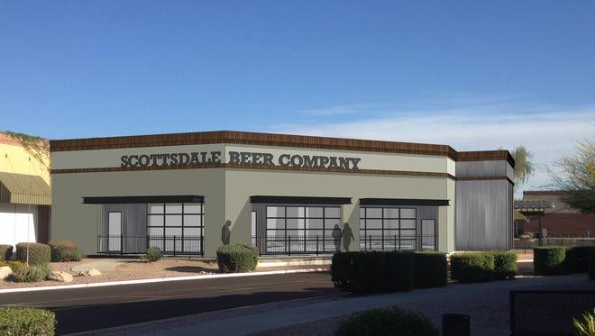 The Scottsdale Beer Company rendering.