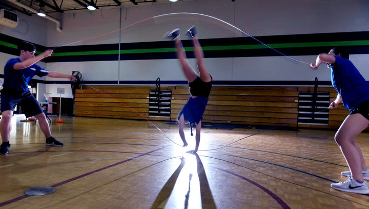 How a Williamson jump rope club became a world competitive team