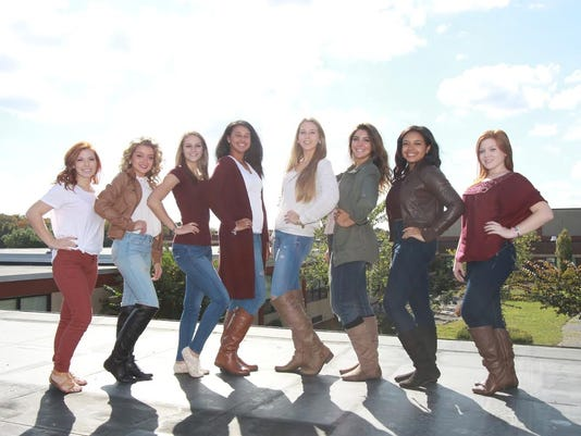 Delsea Homecoming Candidates Girls