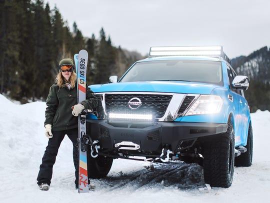 The Nissan Armada Snow Patrol takes Nissan's flagship