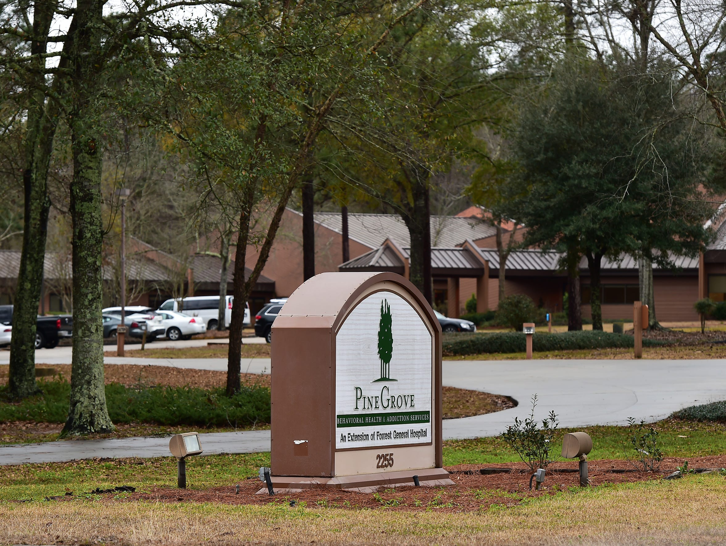 Pine Grove Behavioral Health, Hattiesburg, Miss. Monday,