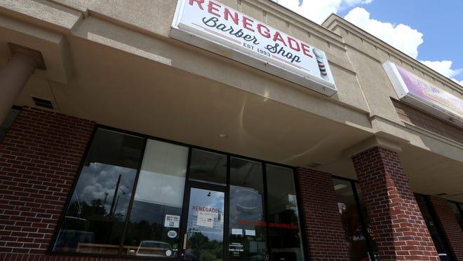 Renegade Barber Shops have reopened.