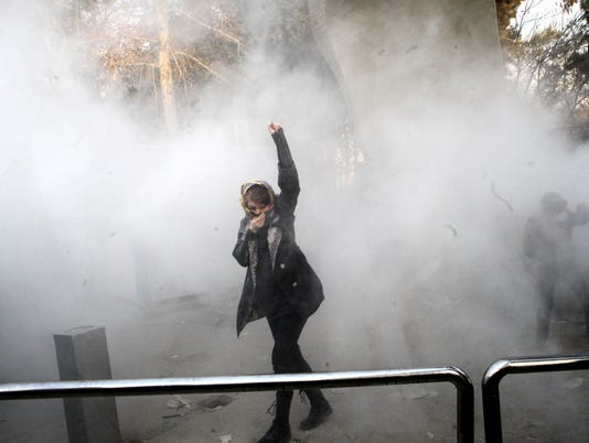 EPA (FILE) IRAN ANTI-GOVERNMENT PROTEST POL CITIZENS INITIATIVE & RECALL IRA