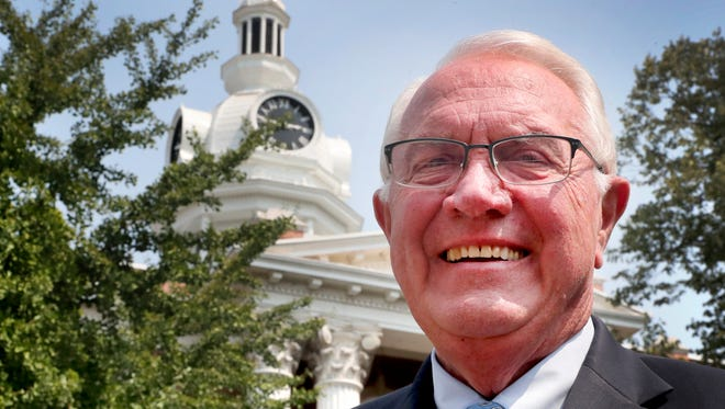 Ernest Burgess is completing his last week in office as Rutherford County mayor. His term ends Aug. 31.