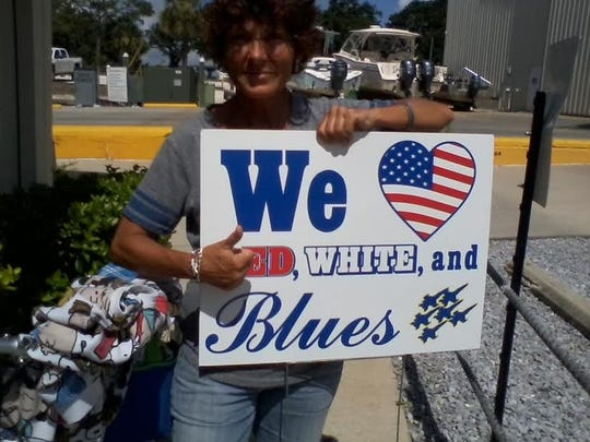 Pensacola residents love the Blue Angels.
