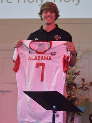 Alabama commit Michael Parker was selected to play in the Alabama-Mississippi All-Star game.