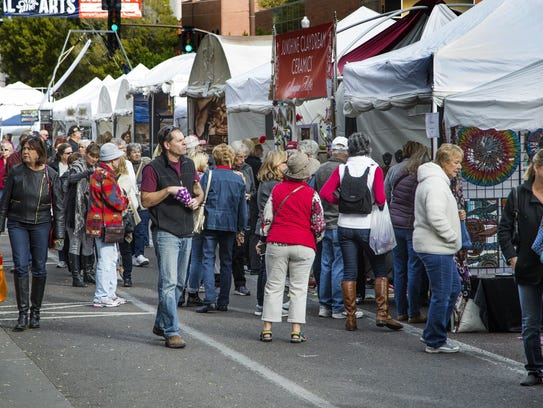 In addition to artists, The Tempe Festival of the Arts