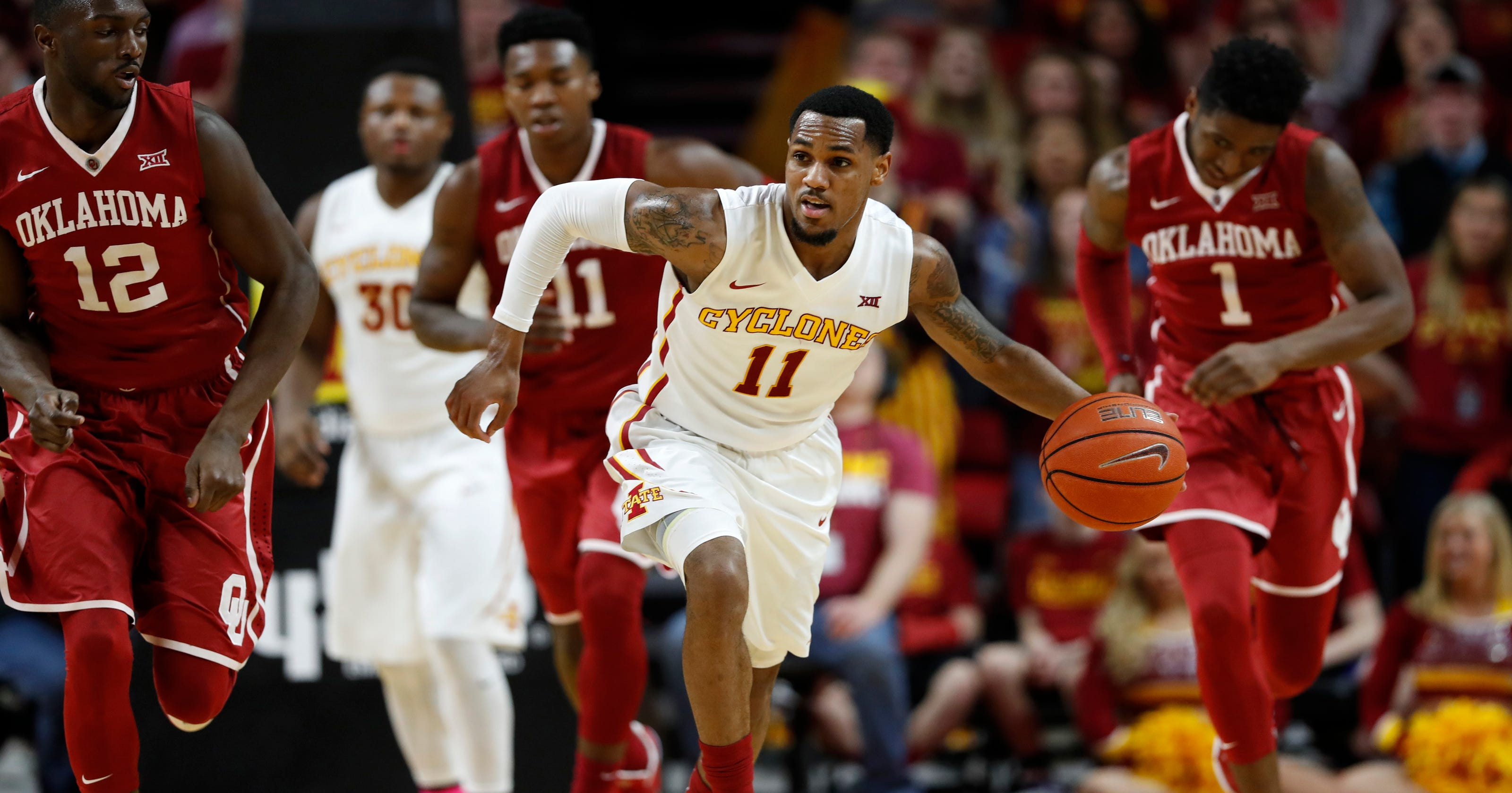 Iowa State guard Monte Morris approaching own NCAA record