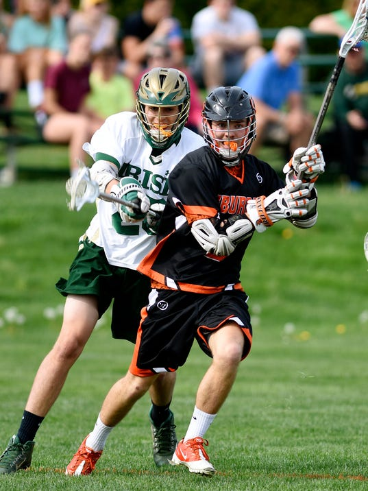 York Catholic vs York Suburban boys lacrosse