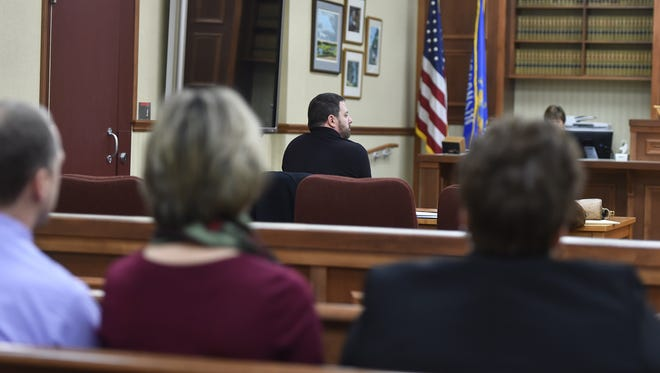 Dean G. Gerend pleaded guilty to four charges of harassment and one charge of disorderly conduct Monday before Door County Circuit Court Judge D. Todd Ehlers.