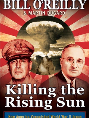 'Killing the Rising Sun' by Bill O'Reilly and Martin Dugard was the top holiday seller.