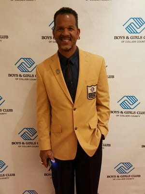 Former Buffalo Bills receiver and NFL Hall of Famer Andre Reed was the keynote speaker at the Boys & Girls Club of Collier County's Youth of the Year Celebration at Artis-Naples on Tuesday, March 7, 2017.