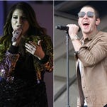 Meghan Trainor and Nick Jonas both have catchy songs called 'Champagne Problems.'