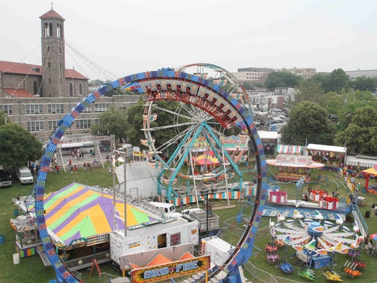St. Anthony's Italian Festival features ride specials early in the week.