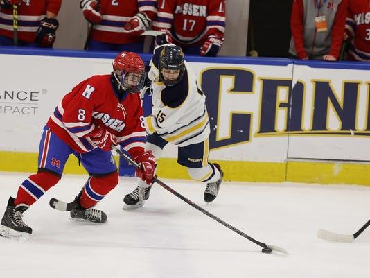 Victor High hockey