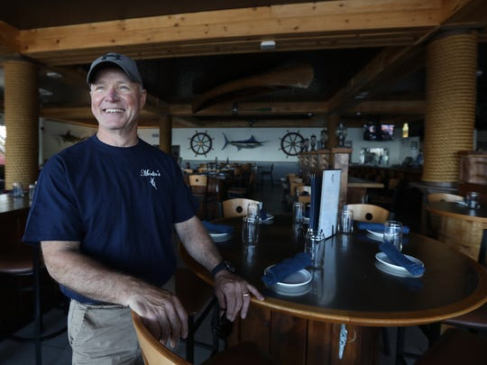 Tom Frank bought Captain Jack's Good Time Tavern in 2006. He opened Marlin's Handcrafted Food & Drink in April 2017.