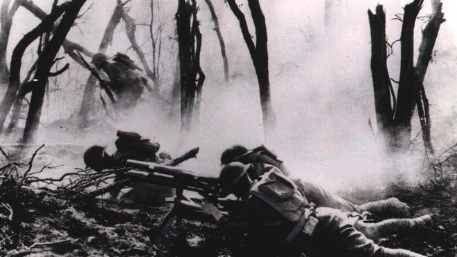 Names of battles remain etched in history — Ypres, Verdun, Chateau Thierry, Belleau Wood. World War 1 brought the United States into major action on the world scene for the first time. The Treaty of Versailles was signed in France, ending World War I on June 28, 1919.