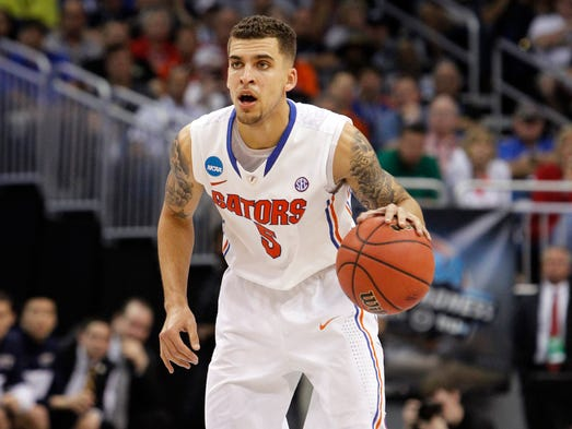 1) Scottie Wilbekin, Florida: Surprised? You shouldn't be. The SEC Player of the Year injects life in this veteran-laden Florida team. The floor general is the driving force behind the Gators' 28-game winning streak.