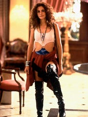 "Julia Roberts in the 1990 film ""Pretty Woman."""