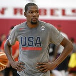 Kevin Durant through the years