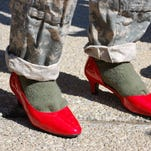 Temple University ROTC cadets and professors were far from the first men to participate in Walk a Mile in Her Shoes event to raise awareness of sexual assault while in uniform, but their participation has drawn media attention.