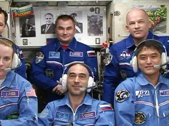 The International Space Station's Expedition 48 crew.