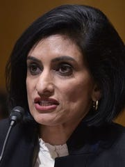 A letter co-written by Seema Verma, who oversees the