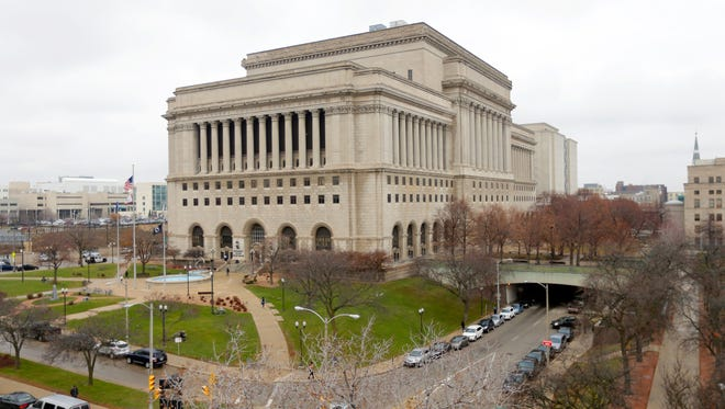 The Milwaukee County Courthouse is home to offices of Retirement Plan Services and the County Board of Supervisors.