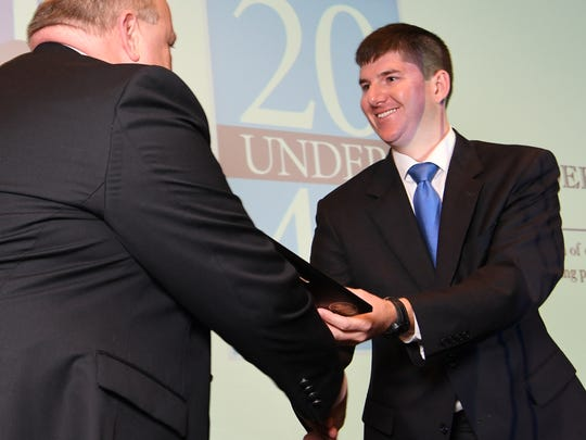 David McCuen was a member of the Independent Mail's 2017 class of 20 Under 40.