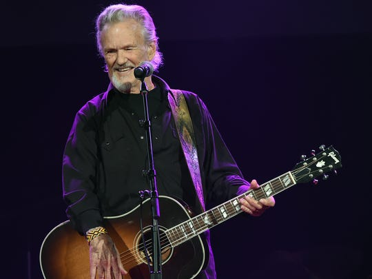 Kris Kristofferson's boots made quite an impression