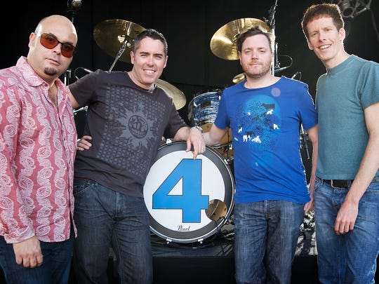 The Barenaked Ladies (from left, Tyler Stewart, Ed Robertson, Kevin Hearn and Jim Creeggan) will perform Aug. 11 at the Indiana State Fair Free Stage.
