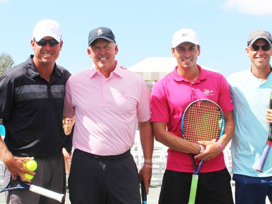 Fiddlers Creek Tennis hosted the 4th Bosom Buddies
