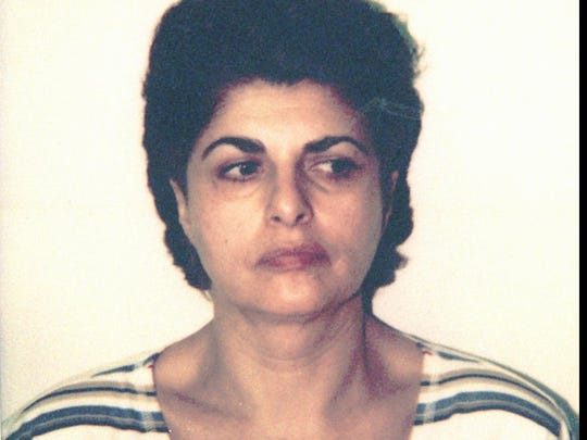 A police mugshot of Rita Gluzman.