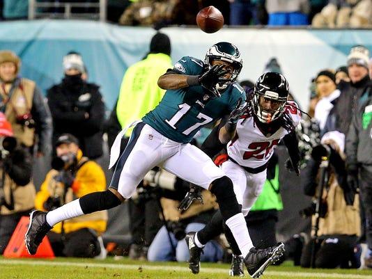 USP NFL: NFC DIVISIONAL PLAYOFF-ATLANTA FALCONS AT S FBN PHI ATL USA PA