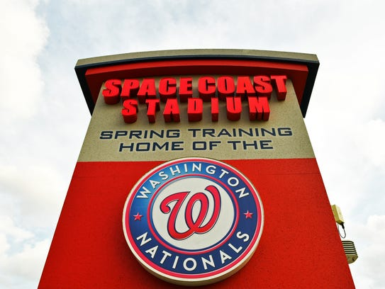 The Washington Nationals moved their spring training