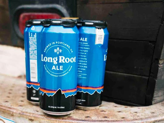 Made from a perennial wheatgrass called Kernza, Patagonia Provisions' Long Root Ale will be served during an April 8 dinner presented by Slow Food Ventura County.