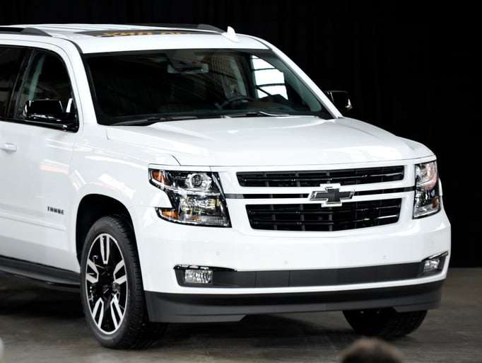 The 2018 chevy tahoe special edition rst for General motors service specials