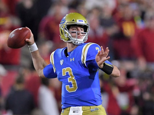Quarterback Josh Rosen could be playing in his final