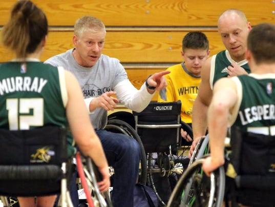 Wilson leads Milwaukee Bucks Wheelchair team