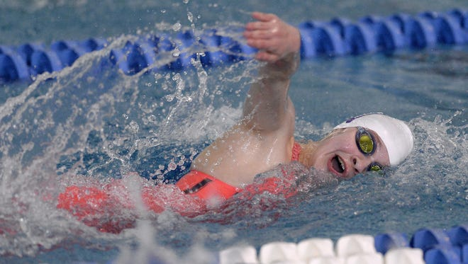 Brighton's Jessica Gordon qualified for states in two events.