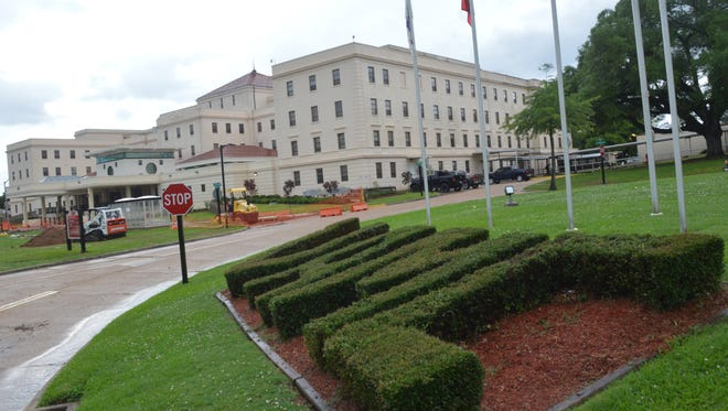 The Alexandria Veterans Affairs Medical Center in Pineville.