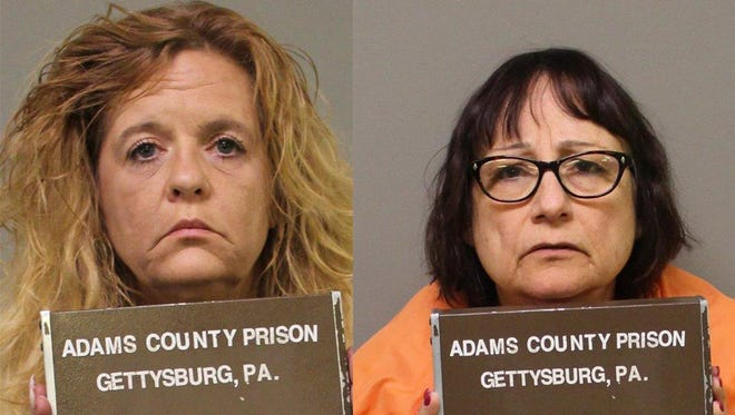 Robin Cheryl Bridgman, left, and Rita B. Harrison